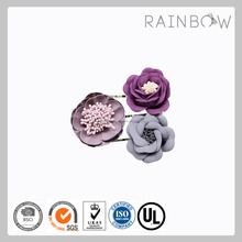 Women hair accessories Artificial Flower hair pin/hair clip/hairclip