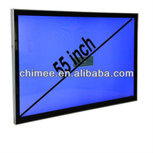 55'' led pc wall mount best touch screen video editing computer