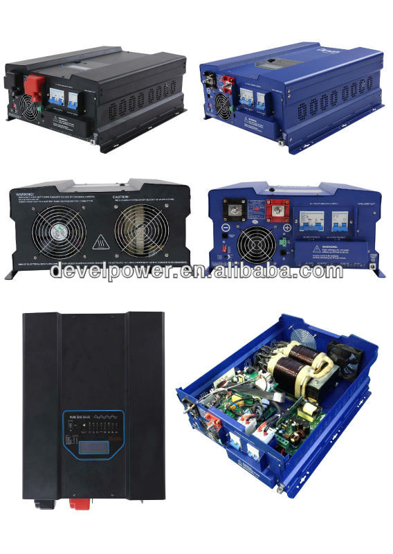 solar power inverter 24vdc 120vac 4000va