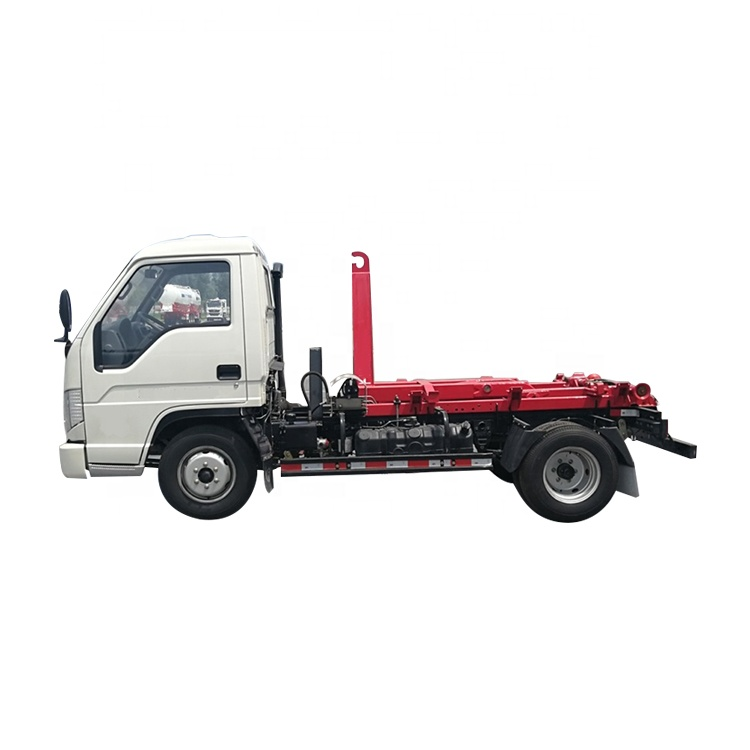 Convenient Delivery Sanitation  Hook Lift  Garbage Container Truck