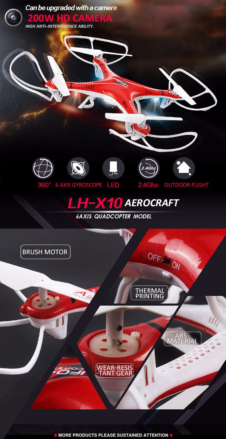 Chenghai LH-X10 RC Helicopter Toys