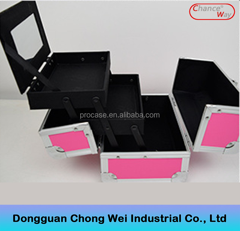 hard case cosmetic bag & make-up bag,make up train case,travel cosmetic suitcase