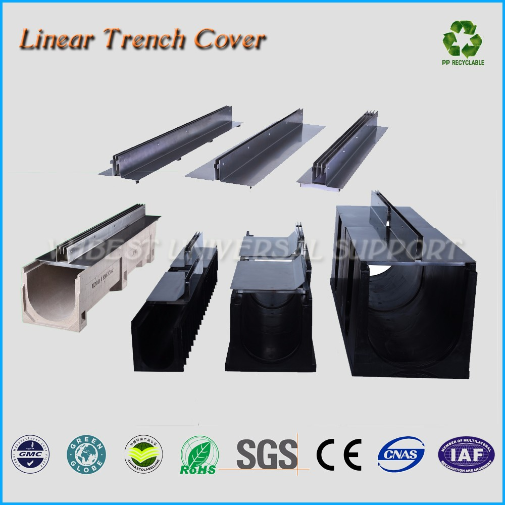 Professional Customized Cast Iron Floor Trench Drain Grates