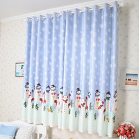 cheap sheer dacron thermal blackout window curtains