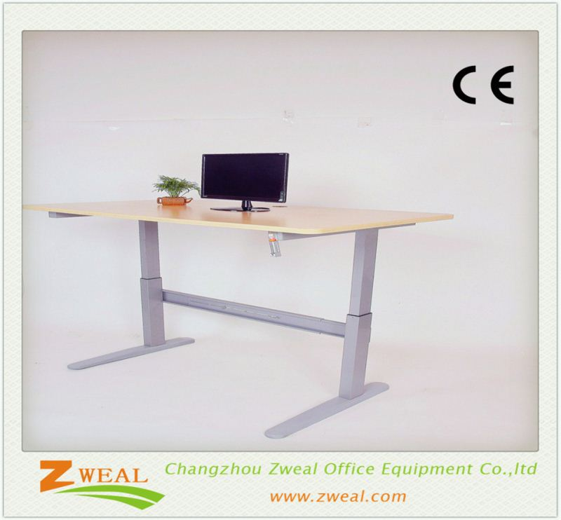 cheap laptop adjustable table leg screw price of office tall steel computer desk