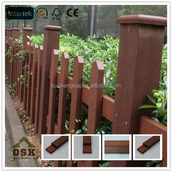 wpc picket fence/gargen fence/european fence