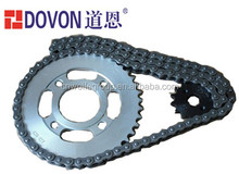 CG 125 14T sprocket,420 and 428 chain sprockets motor driving chain