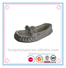 hot sales fashion real suede lady moccasins