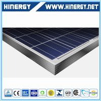 yingli solar panel China Factory Offer Customized solar module 60M mono black silver