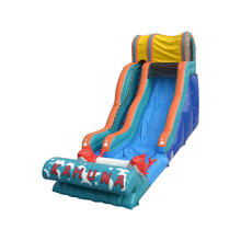 Cheap Big Outdoor Kahuna Inflatable Water Slide Waterslide Park with CE Certificate