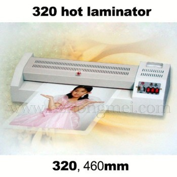 Best sale Hot laminator 320 for instant pvc sheet max A3 size