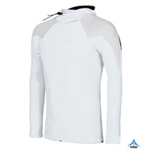 OEM long sleeve white blank rash guard for men