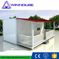 High Quality Flat Pack Container House Luxury Container House 20 feet Construction Site Prefabricated Container House