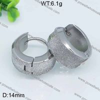 Stainless Steel All in Stock Jewellerymicro pave silver earring rain drop shape