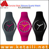 Customized Design Silicone Slap Quartz Watch MADE IN CHINA