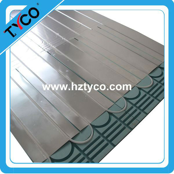 Wood and Laminate Foam Underlay for water heating system