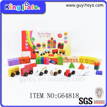 High performance durable building block police