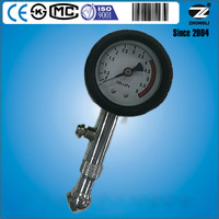 best selling portable stainless steel bike and car tire pressure gauge for easy testing and reading