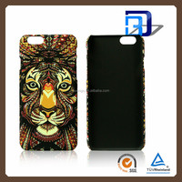 Luminous Forest King Phone Case For iPhone 6 plus Animal Mobile Accessories Hard Plastic Luminous PC Back Phone Case