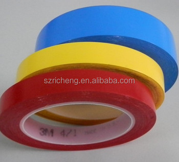 Die cutting 3M 471 Vinyl tape Adhesive caution tape, used for marking hazards and aisles, color-coding, paint masking