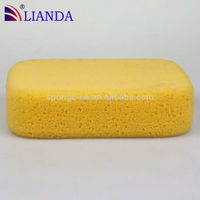 Yellow melamine tooth clean sponge, non-abrasive jewelry sponge pad, multi-purpose foam cleaner spray