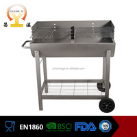 Professional wholesale height adjustable zinc plated bbq grill with CE, GS, ITS certificate