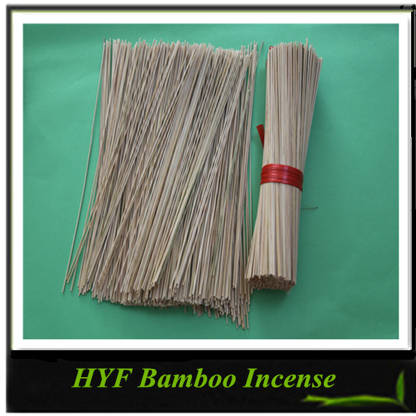 Natural Unscented Disposable Bamboo Incense Stick