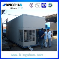 turnkey 40GP movable cold room for apple