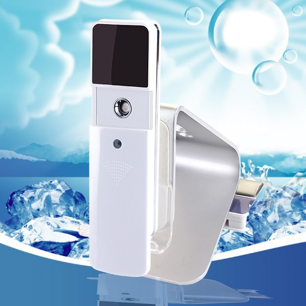 2015 beauty salon product rechargeable nano face mister steamer with mirror