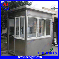 Quality cetificate report Sunscreen glass removable expandable guard house design container house