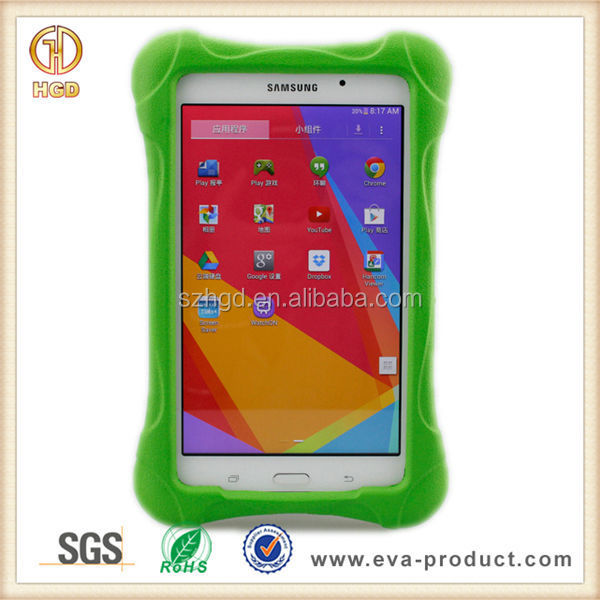Child proof Kids case 7 inch tablet , EVA Shockproof Rubber Case for samsung tab 4 7'' Android Tablet