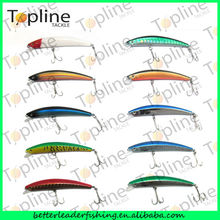 130mm 16.1g hot sale hard plastic fishing lure, wholesale fishing tackle, new fishing lures for 2014