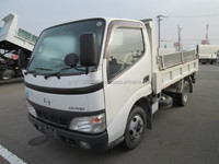USED TRUCKS - HINO DUTRO 2T LOW FLOOR DUMP (RHD 819863 DIESEL)
