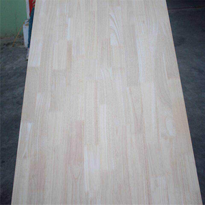 18mm AA grade rubberwood finger joint board