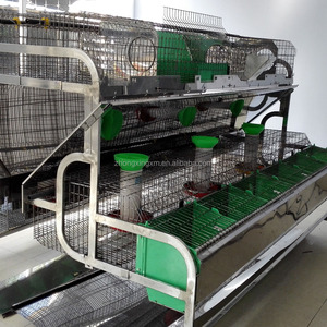 Shandong rabbit breeding cages rabbit hutch