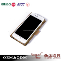 Top quality crafted stand case for iphone 5 credit card holder