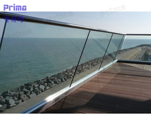 glass balustrade glass panels standard sizes tempered glass fence panels railing PR-B48