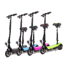 Promotion high speed light brake battery status electric scooter with seat for kids