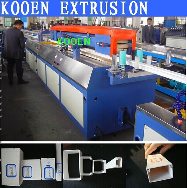 KOOEN production line pvc plastic flooring making machine