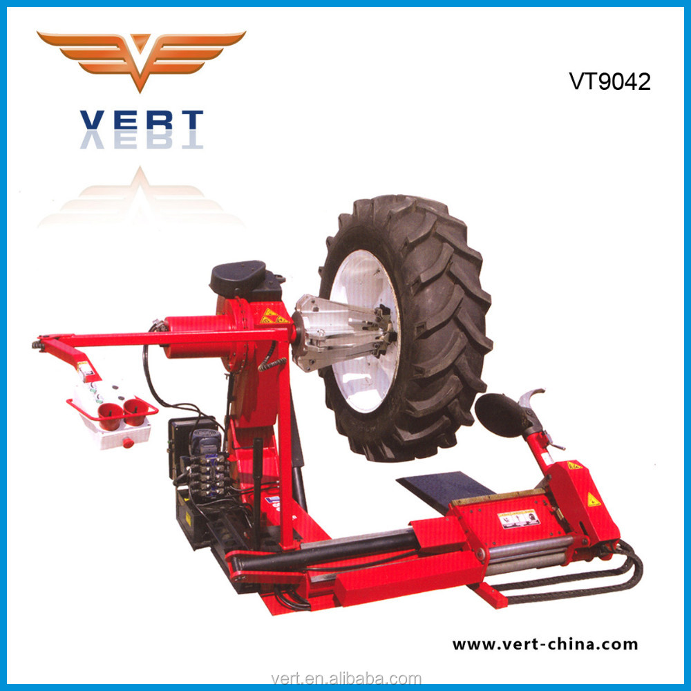 "14""-42"" rim truck tire changer tyre repair equipment for industrial, agricultural and earthmoving wheels VT9042"