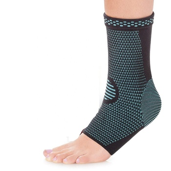 Sport Protection Adjustable Knitted Plantar ankle brace socks