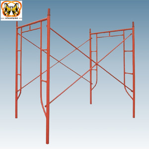 Scaffolding frame for contruction