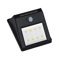 high power sensor led outdoor solar light , 12 leds light ,4-36 pcs SMD2835 leds
