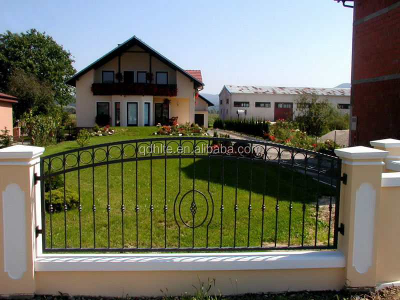 Best Quality metal wrought iron fence