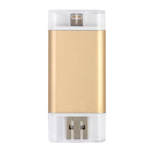 Wholesale 3 in 1 iFlash Drive Device 8GB 16GB 32GB 64GB OTG USB Flash Drive for iPhone and Android Smartphone