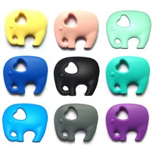 New Design Soft BPA Free Silicone Baby Bath Toys Elephant