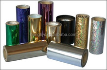 gold and silver hot stamping foil for paper printing