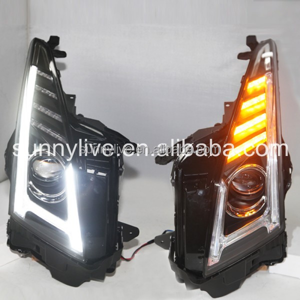 For Cadillac for ATS-L LED Head Light 2014-2015 year