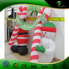 Family Use Garden Outdoor Inflatable Christmas Decoration /Inflatable SnowMan