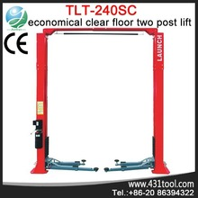 Best quality and portable LAUNCH TLT 240SC 2 post hydraulic garage equipment in car lifts ramp for repair